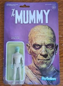 """THE MUMMY 4"""" FIGURE 2019 Super7 ReAction Universal Monsters SEALED NEW HORROR"""