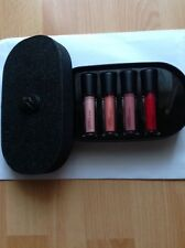 MAC  Genuine*OBJECTS OF AFFECTION NUDE & RED LIPGLASS SET BNIB !Sold Out In UK!!