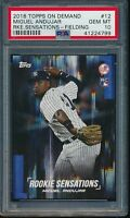 2018 Topps On Demand Rookie Sensations Miguel Andujar Image Variation RC PSA 10