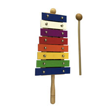 8 Key Glockenspiel Xylophone Music Early Education Percussion Instrument Toolkit