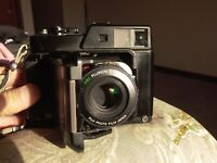 Fujica GS645 Pro Camera selling AS-IS tested Working, Bad Bellows, No meter