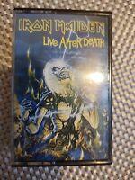 IRON MAIDEN - Live After Death - Cassette Tape - Double - UK Original