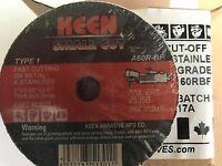 "3M 1987 General Purpose Cut Off Wheel 01987 3/"" x 1//32/"" x 3//8/"" 50 Pk"