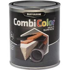 Rust-Oleum combicolor per svariate superfici PITTURA raso nero 750ml RAL 9005