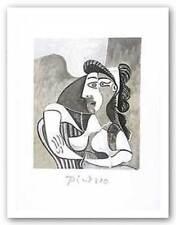 Woman On Armchair Pablo Picasso Art Print 29x21
