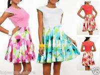 Women Ladies Summer Floral Elegant Best Dress Sundress Maternity Size10 12 14 16