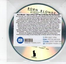 (DS336) Born Blonde, Signs of Fear - 2012 DJ CD