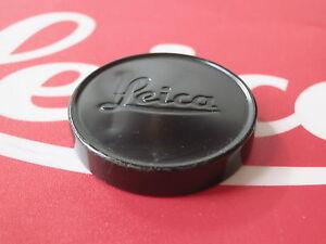Genuine Leica Leitz 39mm Black Paint Front Lens Cap Summicron 35mm/50mm Rare #3
