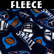 NFL Tennessee Titans 6218-D Fleece Fabric by the Yard