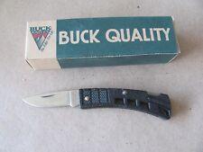 Buck Knives B425 Minibuck Black BRAND NEW VINTAGE