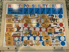 Melissa & Doug My Responsibility Chart Wooden Magnetic