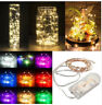 2M 20 LED Battery Operated LED Copper Wire String Lights for Xmas Garland Party