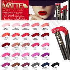 LA Girl Matte Flat Velvet Lipstick, Lip Gloss [Pick 6 Colors] Long Last & Creamy