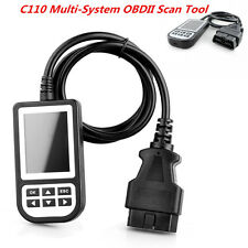 C110 Multi System Engine Code Reader Airbag/ABS/SRS Diagnostic Scan Tool for BMW