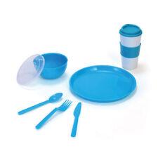 Pfaltzgraff Blue Back to School Travel Set 8 pieces