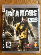 inFamous - PS3 (small tears in cellophane) New!