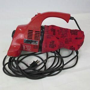 Royal Dirt Devil Hand Vac Vacuum Model 103 Red Works Used
