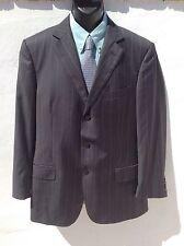 """Suberb Recent ZEGNA Superfine Wool Pinstripe Jacket/Blazer Chest 42"""" Hardly Worn"""