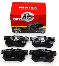 MINTEX REAR AXLE BRAKE PADS FOR HONDA ACCORD CR V MDB2710 (REAL IMAGE OF PART)