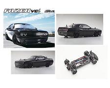 Auto RC Kyosho Fazer VEi Dodge Challenger Hellcat dDrive Readyset 1/ 10 Nero