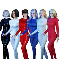 """JIAOU DOLL 1/6 Scale Long-Sleeved Tights Clothes For 12"""" Female PHicen Figure"""