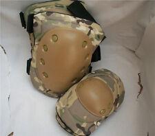 rodilleras y coderas tacticas multicam paintball airsoft militares Nuevas