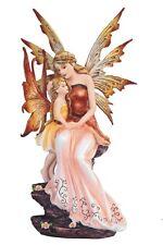 "8.75"" Peach Fairy w/ Baby Statue Figurine Figure Fantasy"