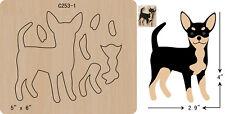 New DOG  Wooden Die , Cutting Dies , Scrapbooking  C-253-1