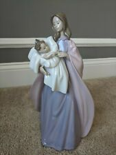 "Nao ""A Mother's Touch"" Figurine 1300 Mother & Child Nao By Lladro - Retired"