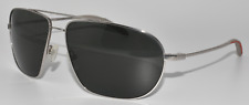 NEW W DEFECT SUNGLASSES MOSLEY TRIBES ALLIANCE-T S SILVER /GREY VFX POLARIZED
