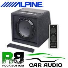 Alpine SWE-815 8 20CM Active 300 Watts Amplified Car Sub Subwoofer Bass Box