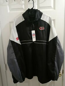 Vintage San Francisco 49ers Jacket Mens SF  Windbreaker SI Promo RARE NWT sz 2XL