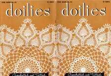 Doily Crochet Tat Tatting Patterns Vintage Lace Victorian