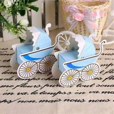 10pcs Baby Shower Paper Candy Box Stroller Shape Birthday Party Candy Case,[