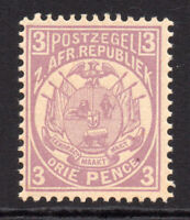 Transvaal 3 Pence Stamp c1885-93 Unmounted Mint Never Hinged Perf 12.5 (6682)