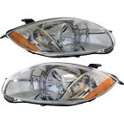 Headlight Set For 2006-2007 Mitsubishi Eclipse Left and Right With Bulb CAPA 2Pc