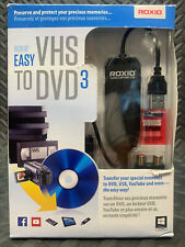 ROXIO Easy VHS to DVD3 for Windows Transfer Your Movies to USB and More