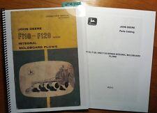 John Deere F110 F120 Ser Integral Moldboard Plow Owner Operator Manual + Parts