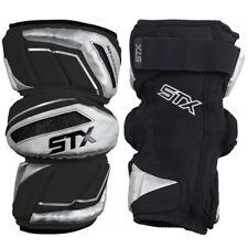 Stx Pd Apsw 03 Bk/Xx Shadow Lacrosse Arm Pads Large Black Silver
