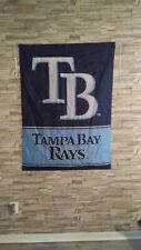 """New listing Lot Of 5 New Tampa Bay Rays Flags Size 36""""x47"""""""