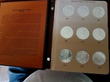 22-Coin Silver Eagle Collections: 1986 to 2007 BU/MS Coins