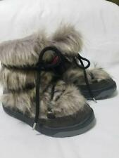 NWOB OSCAR SPORT Winter Snow Anet Short Boots Grey size 6 Made in Italy