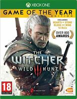 The Witcher 3: Wild Hunt Complete Edition (Xbox One, 2016) Brand New Free Ship