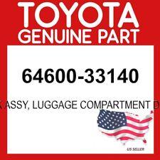 TOYOTA GENUINE 64600-33140 LOCK ASSY, LUGGAGE COMPARTMENT DOOR OEM