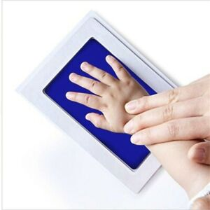 Inkless Baby Kit-Hand Foot Print Keepsake Newborn  Handprint Kids#SO