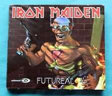 IRON MAIDEN - RARE CD SINGLE - FUTUREAL WITH POSTER - EXCELLENT CONDITION