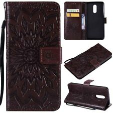 For LG Stylo 4/X Charge/X Power 3/V40 Leather Wallet Card Holder Flip Case Cover