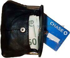 Leather Change Purse bag Ladies Wallet purse mini pocket coin case bnwt