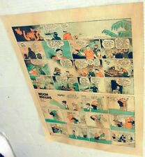 Sunday Color Newspaper Page 3 strips Captain And The Kids 5/5/1940 Phil Inquire