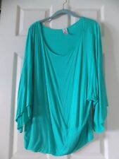 J.Mode Women's Shirt, Size 2XL Green